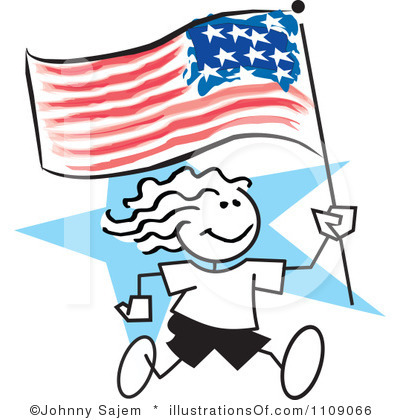 400x420 Free American Clipart