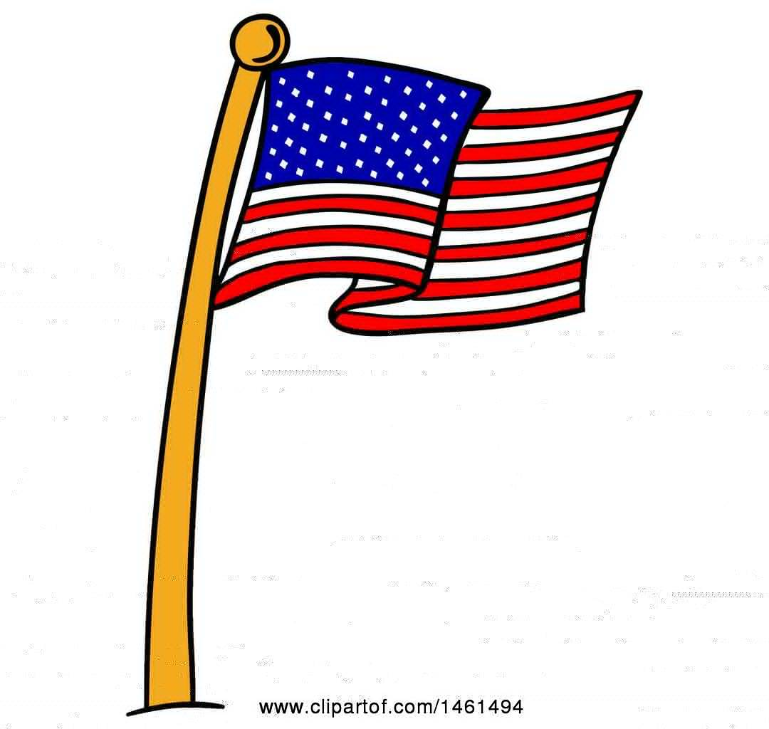 1080x1024 Cartoon Flags Clip Art Cartoon American Flag 2018 1
