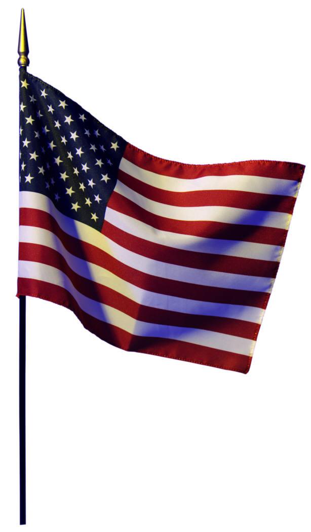 614x1050 America Clipart American Flag Pole