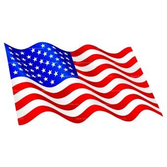 340x340 Usa Flag Clipart Group