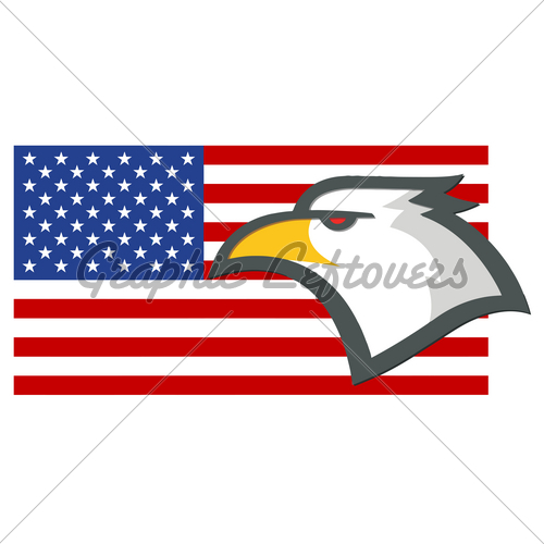 500x500 American Flag Clipart Free