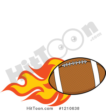 450x470 Flaming Football Clipart American Football Clipart 1 Royalty Free