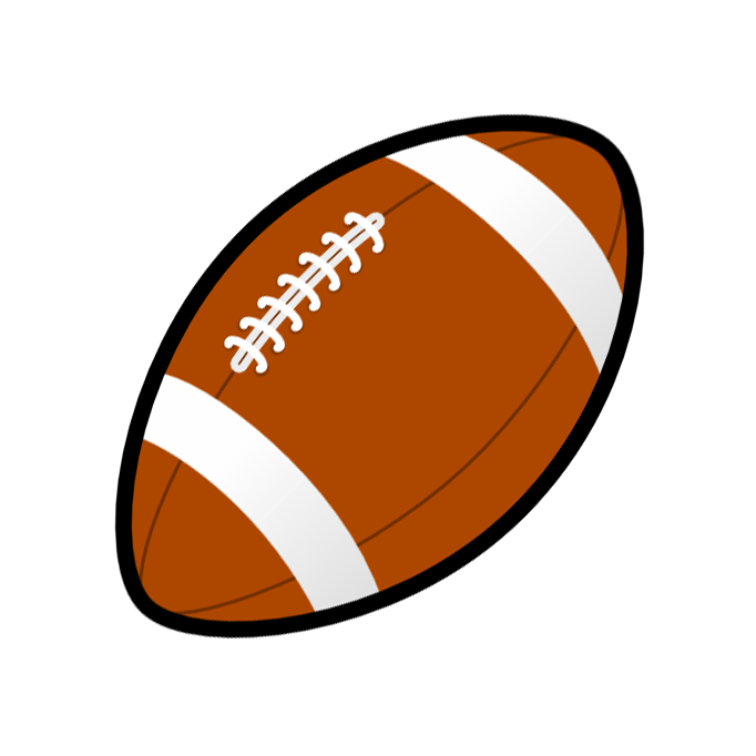 682x682 Football Clipart Camping Clipart