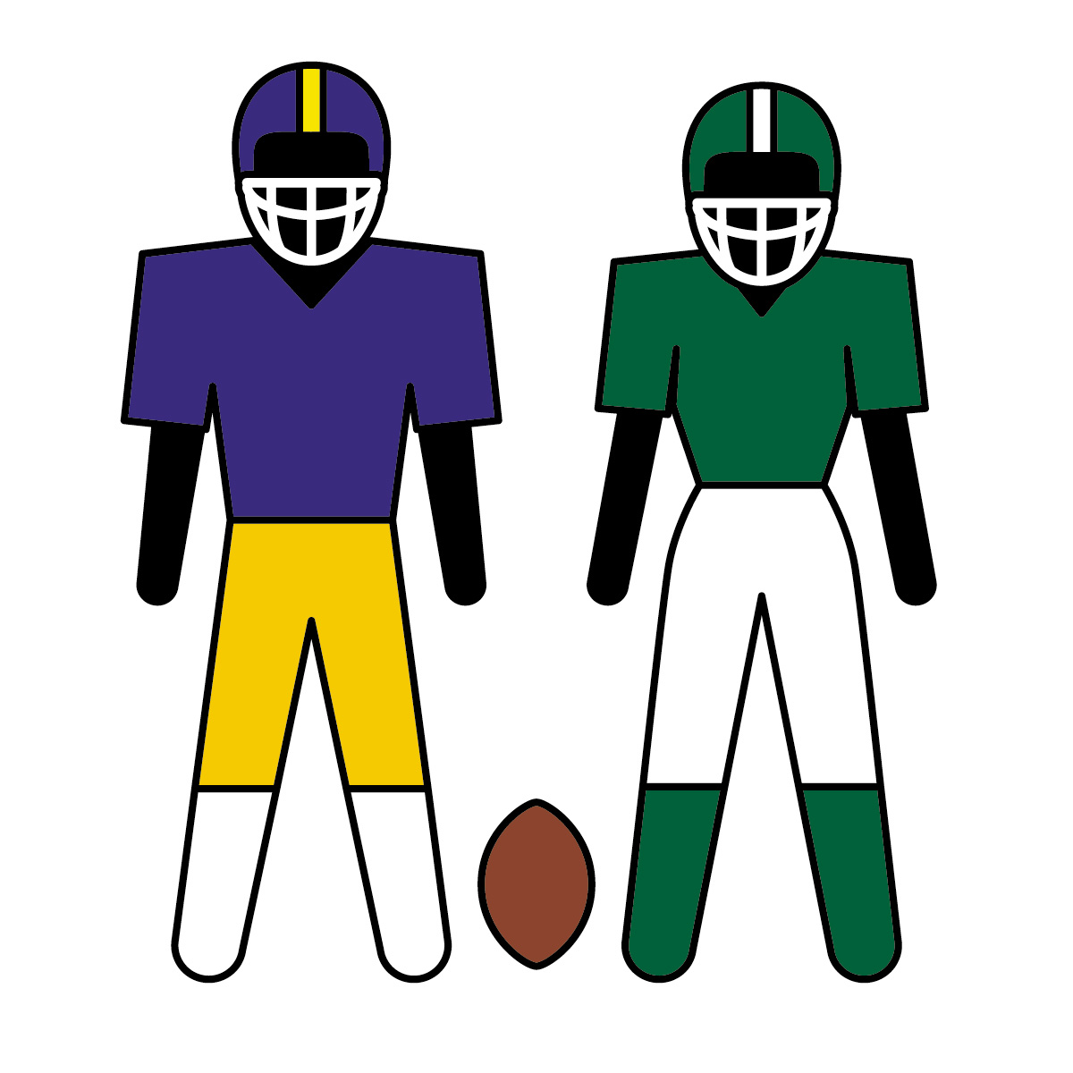 1200x1200 Image Of American Football Clipart