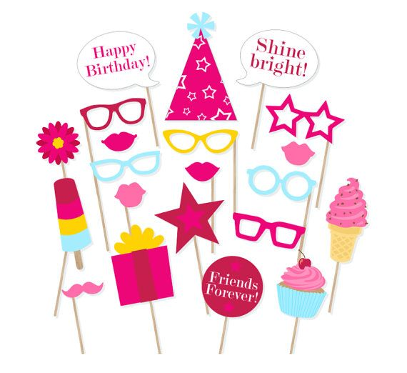 570x522 American Girl Birthday Banner Clipart