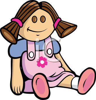 339x350 Cute Doll Wearing A Pink Dress