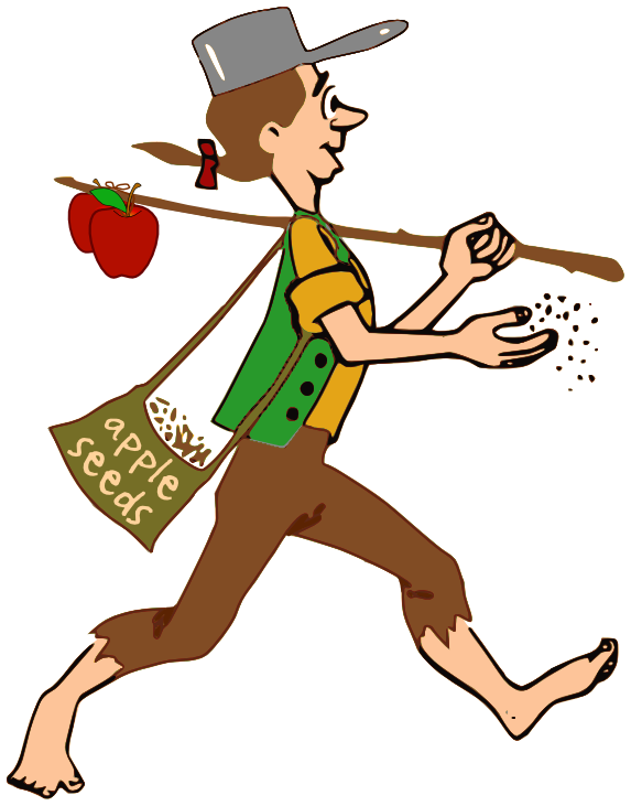 573x731 Johnny Appleseed Clip Art. Church Sign Epic Fails,