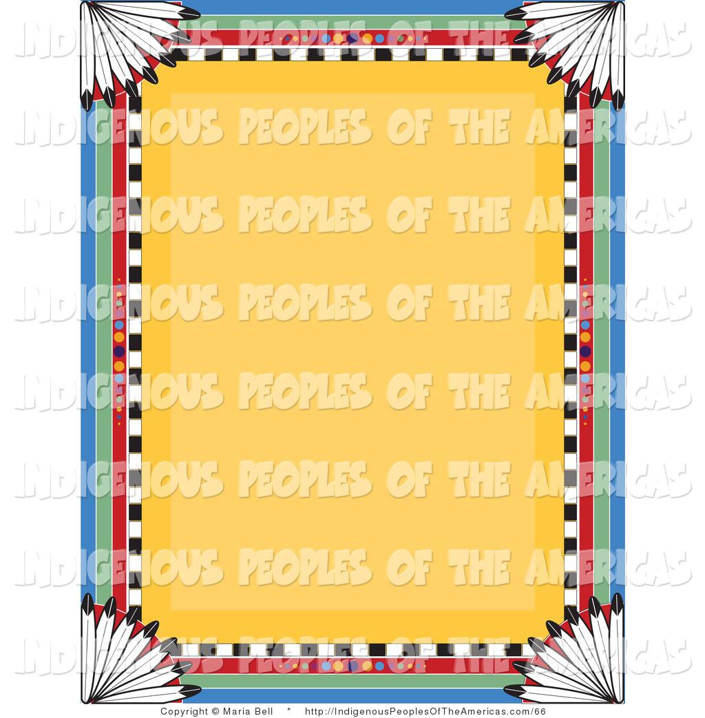 1024x1044 Native American Borders Clipart