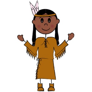 300x300 Native American Indian Clipart