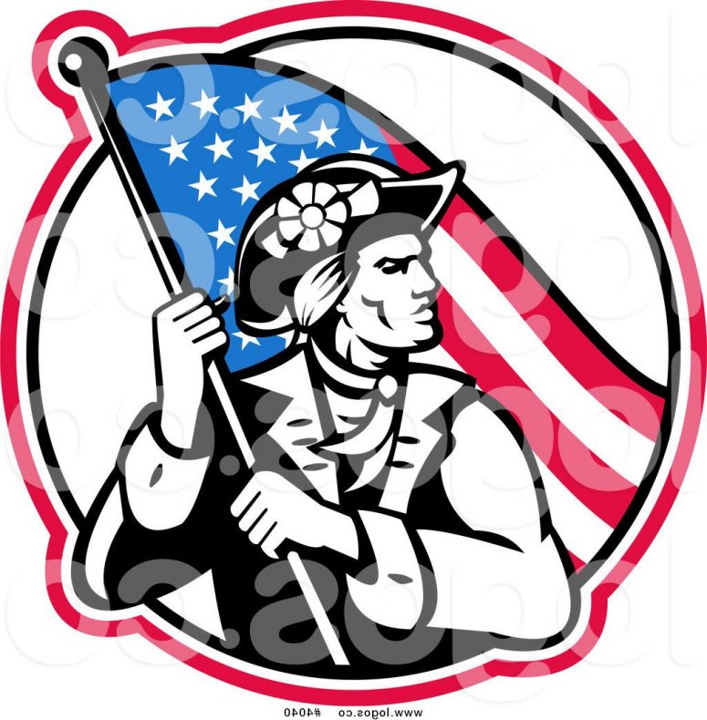775x790 Revolutionary War Clipart