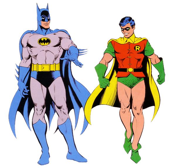 577x574 Robin From Batman Clipart
