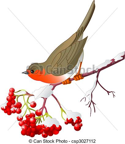 408x470 Collection Of Winter Robin Clipart High Quality, Free