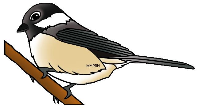 648x356 United States Clip Art By Phillip Martin, State Bird Of Maine
