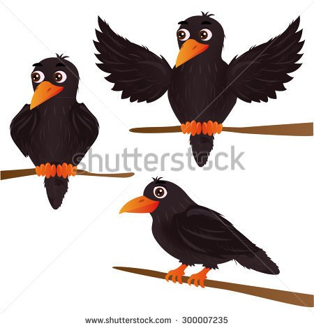 450x470 Crow Clip Art