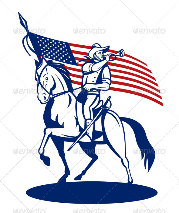 590x700 Cavalry Military Clipart