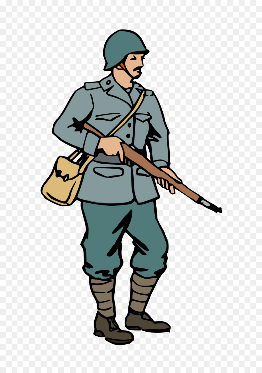 900x1280 Second World War Soldier Clip Art