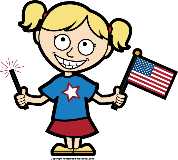 605x545 America Clipart Typical
