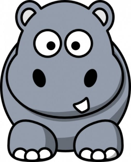 506x626 Free Hippo Clipart Clip Art Pictures Graphics Illustrations Image