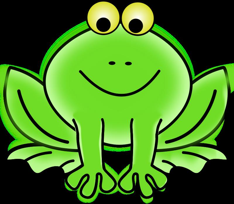 800x696 Free Clipart Frog Gammillian