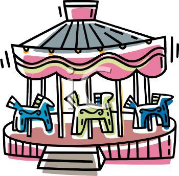 350x344 Carnival Carousel