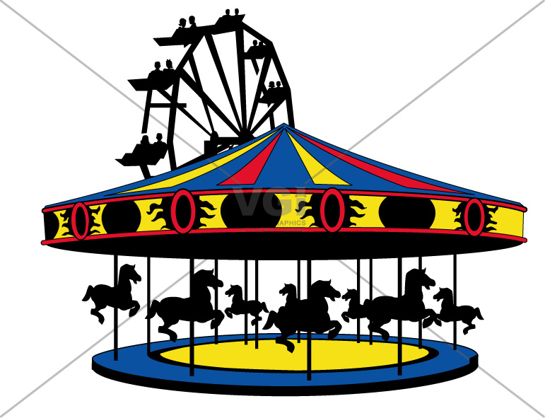 771x591 Carnival Clipart Merry Go Round