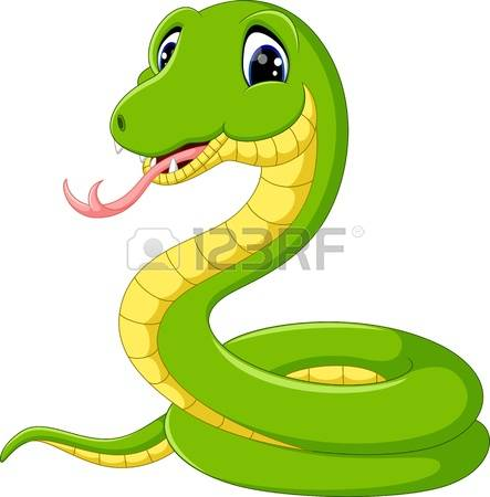 443x450 Anaconda Clipart Happy