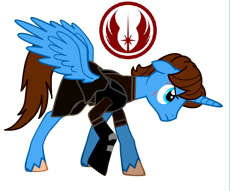 767x635 Mlp Anakin Skywalker Alicorn By Artistnjc
