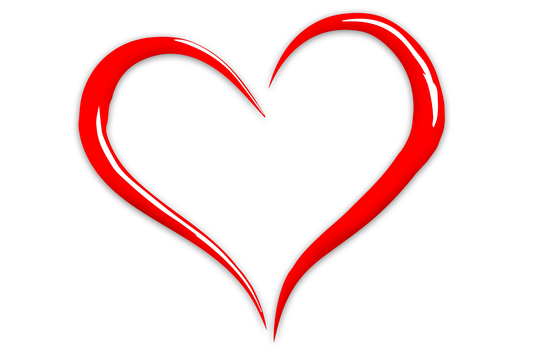 6000x4000 Heart Clip Art