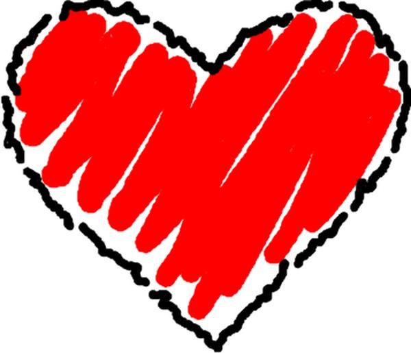 600x515 Heart Graphics Clip Art