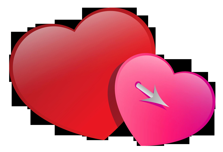 3000x2038 Heart Face Clip Art Image Black