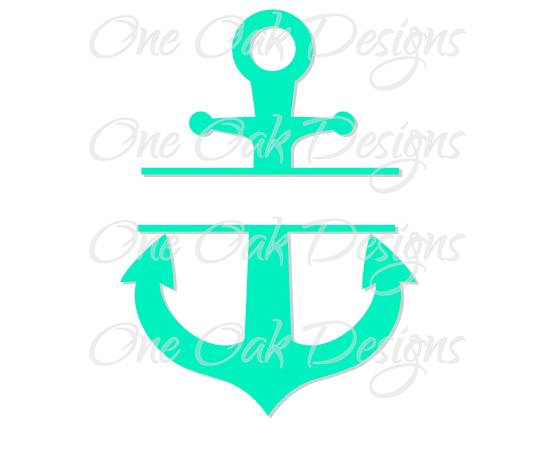544x454 Anchor Clipart Turquoise