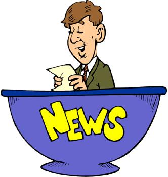 332x350 News Anchor Clipart Clip