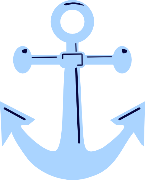 480x596 Unfinished Anchor Clip Art