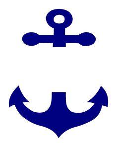 236x296 Split Anchor Clip Art