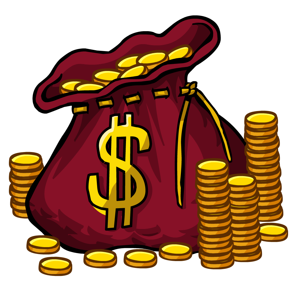 Bag With Money Sign Cartoon: Anchor Clipart Free At GetDrawings