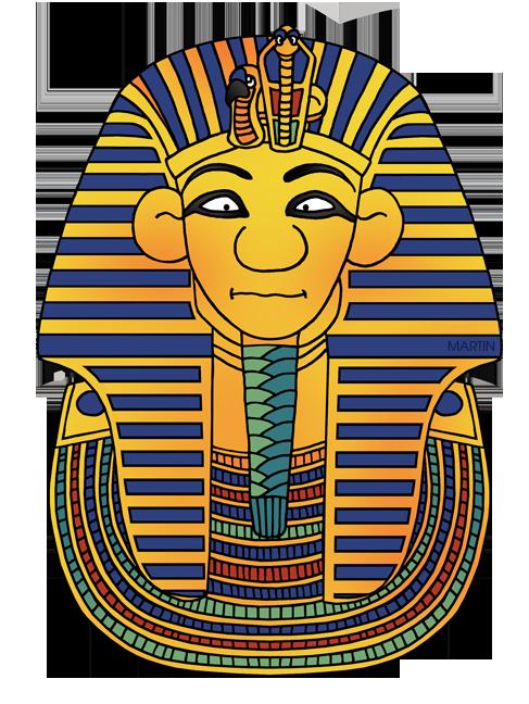 487x648 Ancient Egypt Clip Art By Phillip Martin, King Tut's Mask