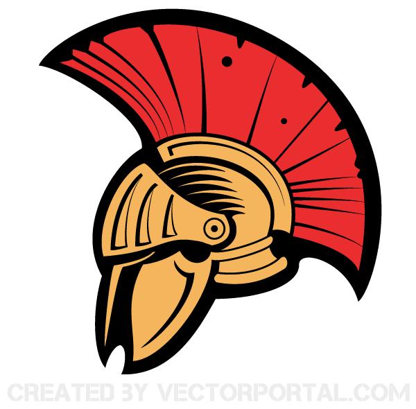 600x590 Vector Clip Art Ancient Helmet Download Free Vector Art Free