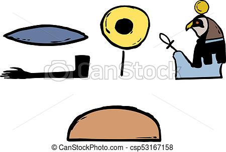 450x304 Ancient Egyptian Symbols. Ancient Egyptian Hieroglyphics