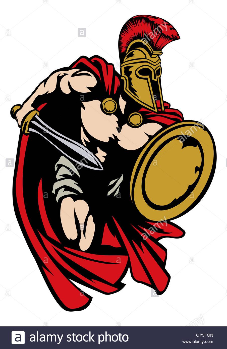 904x1390 Spartan, Roman Or Trojan Gladiator Ancient Greek Warrior