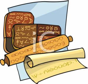 300x285 Clipart Picture Of Hiroglyphics Tablets