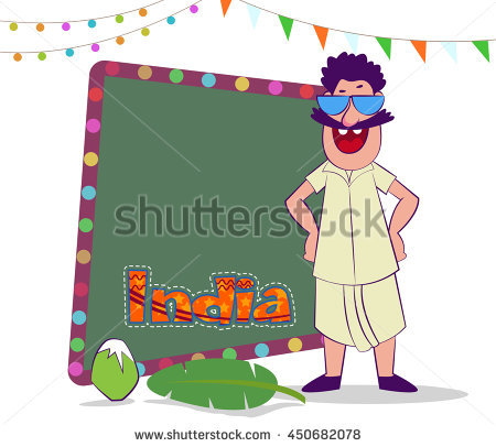 450x406 South India Clipart