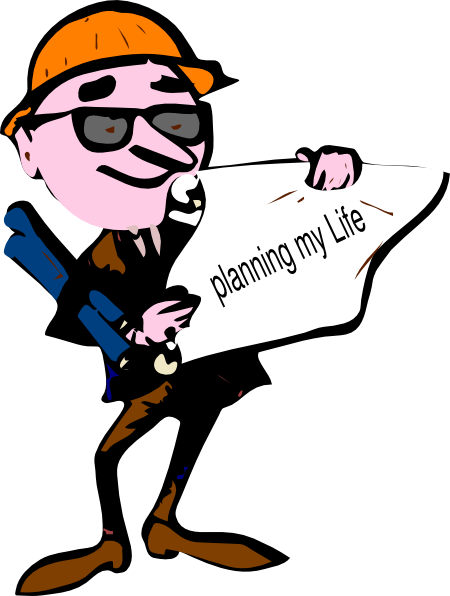 450x596 Planning My Life Clip Art