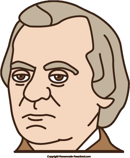 438x532 President Clipart