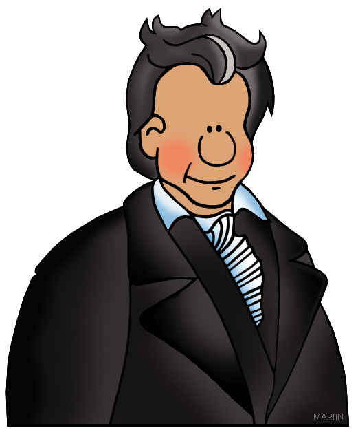 521x648 United States Clip Art By Phillip Martin, Famous People