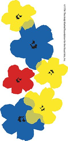 238x492 Iconic Andy Warhol Flowers From The Andy Warhol Foundation Add