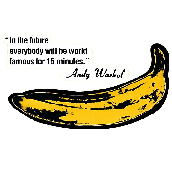550x550 Banana Andy Warhol Photographic Prints By Bryancole8 Redbubble