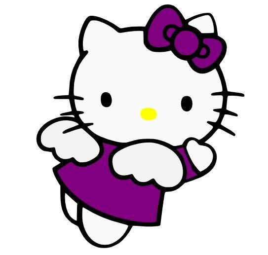 543x517 Angel Clipart Hello Kitty