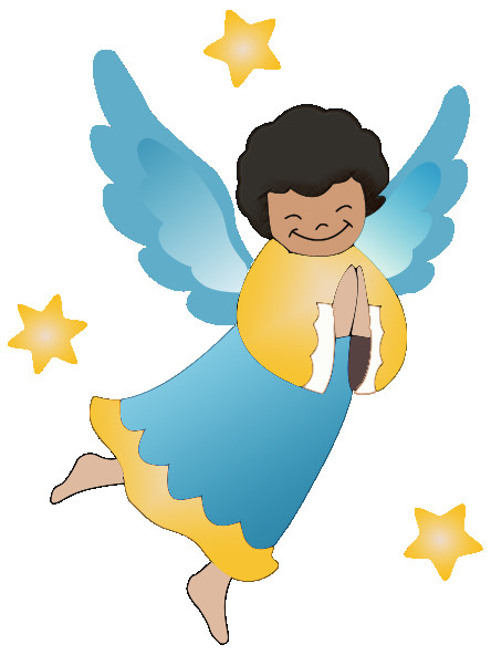 444x592 Free Clip Art Angels Alihkan.us