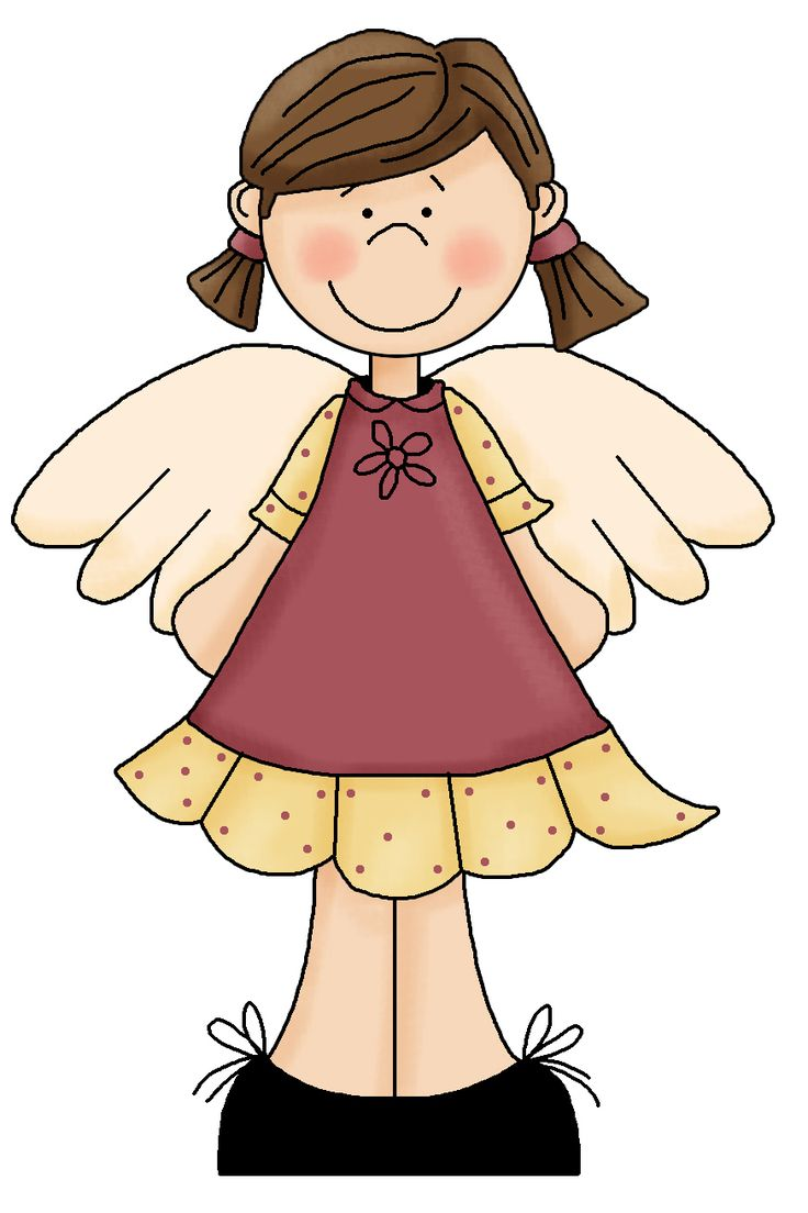 736x1104 Angel Clip Art Free Download