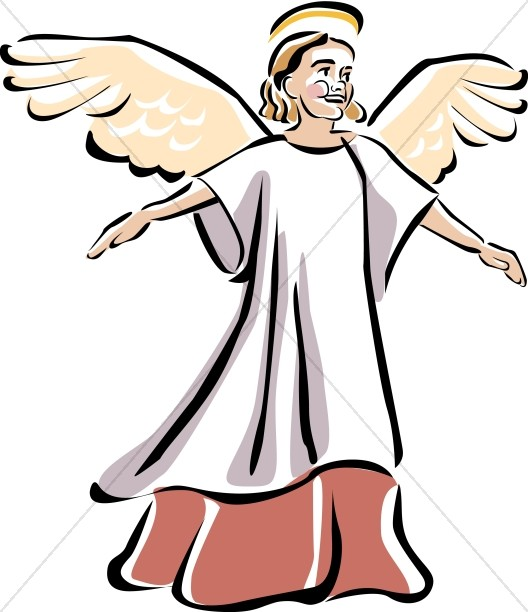 528x612 Seraphim Picture Angel Clipart